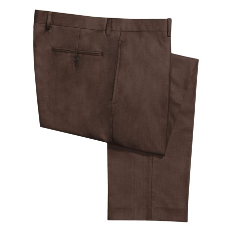 Calvin Klein Solid Gabardine Dress Pants (For Men)