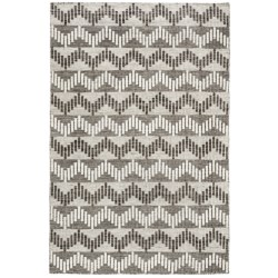 Momeni Mesa Flat-Weave Natural Wool Area Rug - 5x8', Reversible