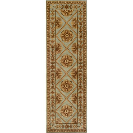 "Momeni Maison Collection Floor Runner - Hand-Tufted Wool, 2'6""x4'3"""