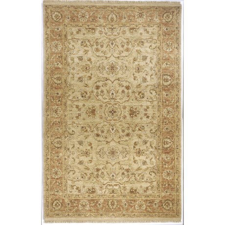 "Momeni Palace Collection Peshawar Style Area Rug - Hand-Knotted Wool, 3'9""x5'9"""