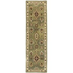 "Kaleen Presidential Picks Cooks Landing Floor Runner - 2'3""x8', Woolmark® Virgin Wool"