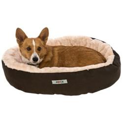 "ASPCA Swirl Solid Dog Bed - 28"""