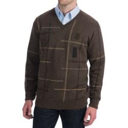 Bullock & Jones Geometric Sweater - V-Neck (For Men)
