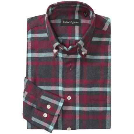 Bullock & Jones Brushed Cotton Shirt - Long Sleeve (For Men)