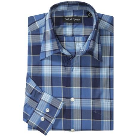 Bullock & Jones Lake George Plaid Shirt - Long Sleeve (For Men)