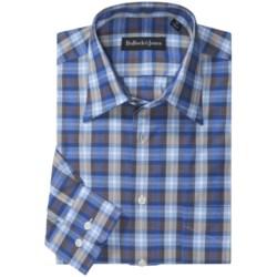 Bullock & Jones Pindot Plaid Sport Shirt - Long Sleeve (For Men)