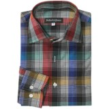 Bullock & Jones Valencia Plaid Shirt - Long Sleeve (For Men)
