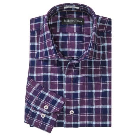 Bullock & Jones Milan Exploded Check Shirt - Long Sleeve (For Men)