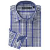 Bullock & Jones Charleston Mini-Check Shirt - Long Sleeve (For Men)