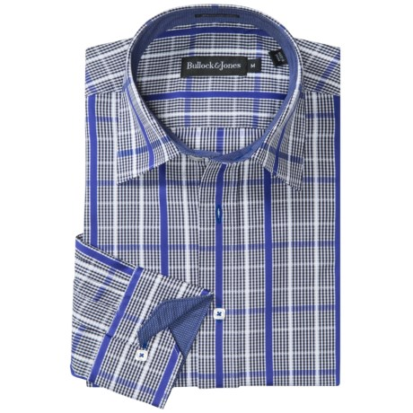 Bullock & Jones Charleston Mini-Check Shirt - Long Sleeve (For Men)