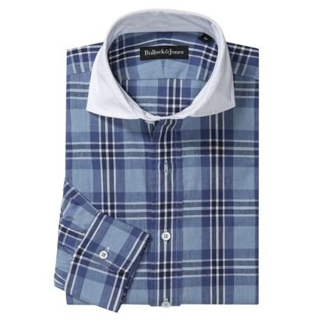 Bullock & Jones Remington Contrast Collar Shirt - Long Sleeve (For Men)