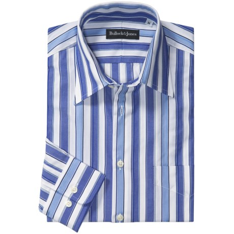 Bullock & Jones Awning Stripe Shirt - Long Sleeve (For Men)