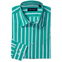 Bullock & Jones Bold Wide Stripe Shirt - Long Sleeve (For Men)