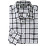 Bullock & Jones Richmond Plaid Shirt - Linen, Long Sleeve (For Men)