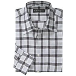 Bullock & Jones Richmond Plaid Shirt - Linen, Long Sleeve (For Men)