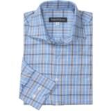 Bullock & Jones Cotton-Cashmere Plaid Shirt - Long Sleeve (For Men)