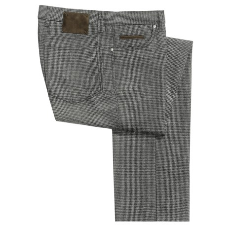 Bullock & Jones Five-Pocket Dress Pants - Wool Blend (For Men)
