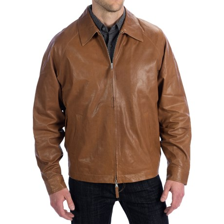 Golden Bear Buckley Leather Jacket (For Men)