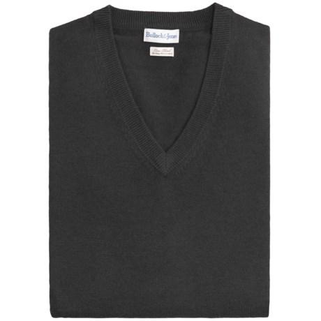 Bullock & Jones Luxe Wool-Cashmere Vest (For Men)
