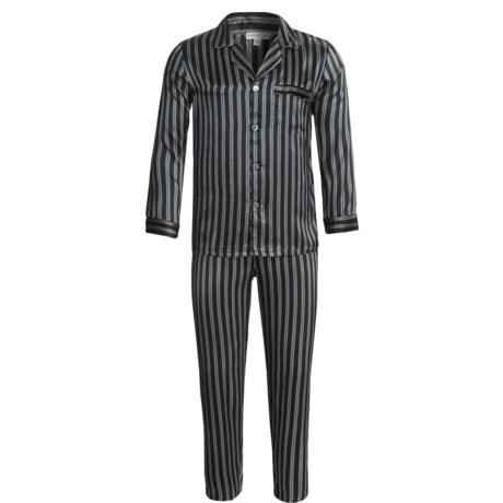 Bullock & Jones Sullivan Silk Pajamas - Long Sleeve (For Men)