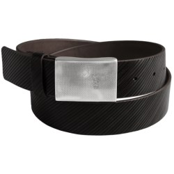 Bullock & Jones Righello Diagonal Belt - Leather (For Men)