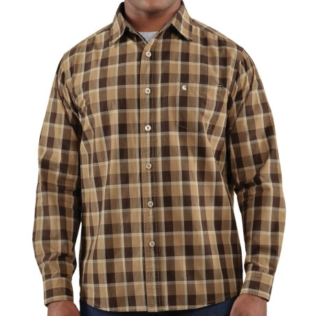 Carhartt Bellevue Plaid Shirt - Slim Fit, Spread Collar, Long Sleeve (For Men)