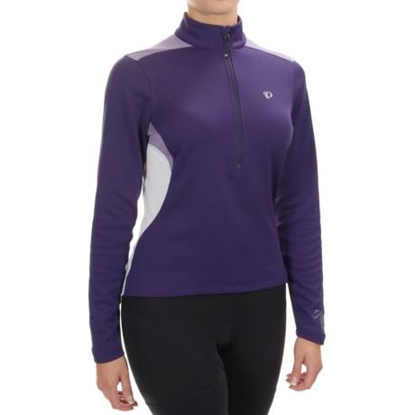 Pearl Izumi Superstar Thermal Fleece Jersey - Zip Neck, Long Sleeve (For Women)
