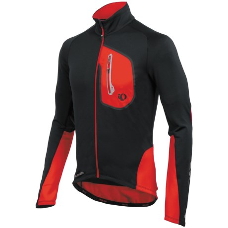 Pearl Izumi P.R.O. Thermal Cycling Jersey - UPF 50+, Full Zip, Long Sleeve (For Men)