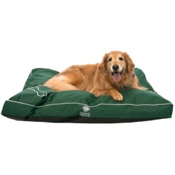 AKC Gusseted Dog Bed - Water- and Chew-Resistant, 35x44""