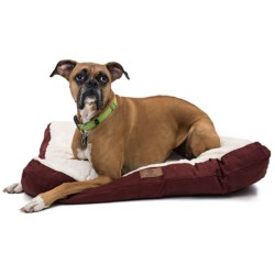 AKC Sueded and Faux-Fur Pet Bed - 36x27""