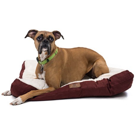 """AKC Sueded and Faux-Fur Pet Bed - 36x27"""""""