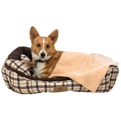 AKC Cuddler Dog Bed Set - 3-Piece