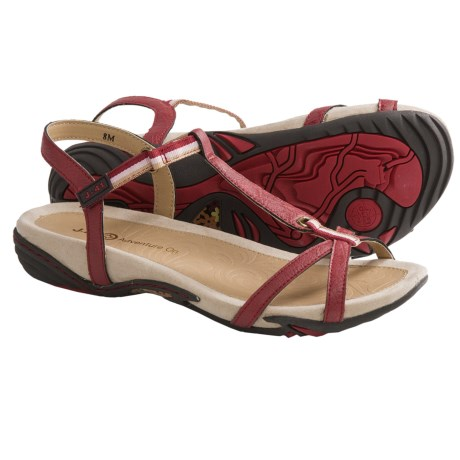 J-41 Shasta T-Strap Sandals (For Women)