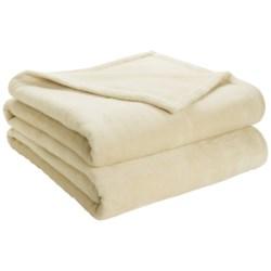 DownTown Shangri-La Plush Blanket - Twin, Cotton-Rayon