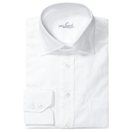 Van Laack Rigole Cotton Shirt - Spread Collar, Long Sleeve (For Men)