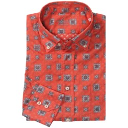 Van Laack Rezzo Button-Down Collar Shirt - Tailored Fit, Long Sleeve (For Men)