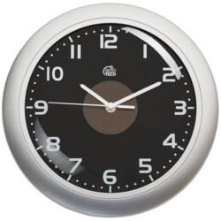 """Equity by La Crosse Technology Hybrid Solar Wall Clock - 12"""""""