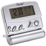 Equity by La Crosse Technology LCD Digital Fold-Up Travel Alarm