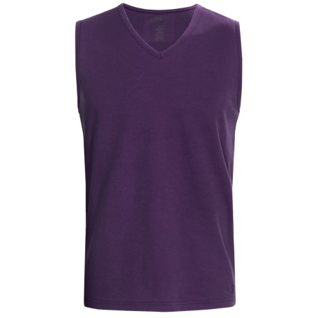 Report Collection Eklectic Muscle Shirt - V-Neck, Sleeveless (For Men)