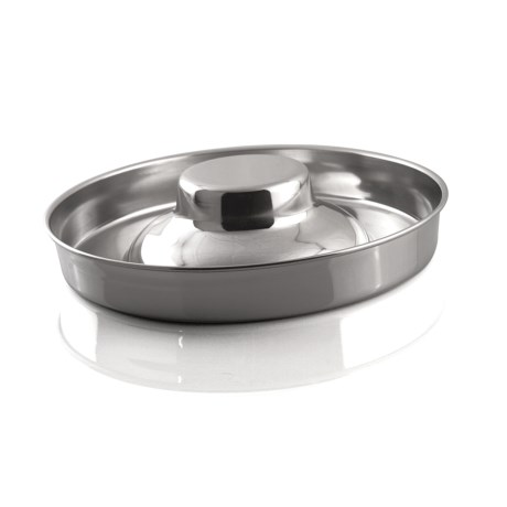 Bergan Stainless Steel Puppy Saucer - 8 Cup