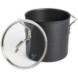 Calphalon Commercial Hard-Anodized Covered Stock Pot - 12 qt.