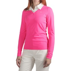 Bogner Wanya Golf Shirt - Long Sleeve (For Women)