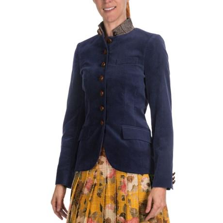 Bogner Dorit Velour Blazer (For Women)