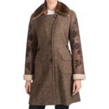Bogner Yara-Pi Long Coat - Wool-Silk, Mink (For Women)