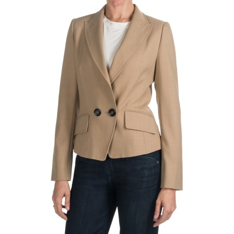 Bogner Lolita Single-Button Blazer - Poly-Wool Blend (For Women)