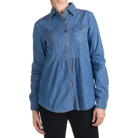 Bogner Geli-G Chambray Shirt - Long Sleeve (For Women)