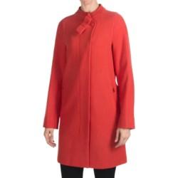 Bogner Piera Long Wool Coat (For Women)