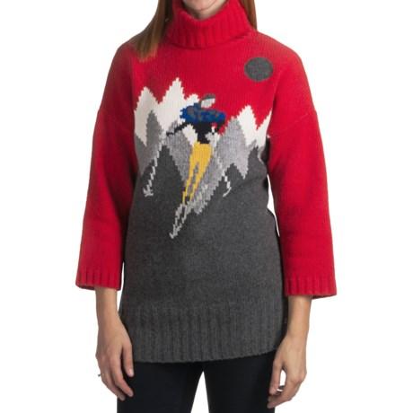 Bogner Franzi-H Heritage Skier Sweater - Wool-Cashmere, 3/4 Sleeve (For Women)