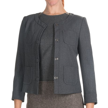 Bogner Philine Short Jacket - Wool Blend (For Women)