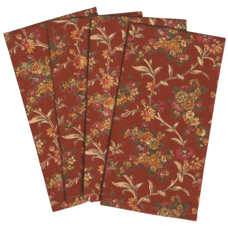 April Cornell Cotton Napkins - Set of 4